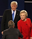 Trump - Clinton Debate at Hofstra University