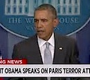 Pres. Obama speaks on Paris attacks