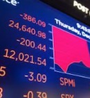 Stock market tumbles