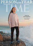 Time Magazine Person of the Year Greta Thunberg