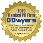 O'Dwyer's PR Firm Rankings Seal