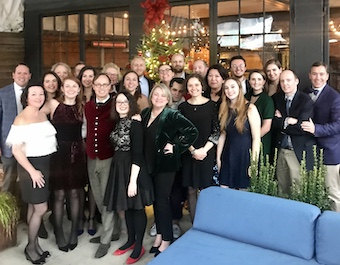 The McCabe Message Partners team rang in the holidays at a special luncheon in DC.