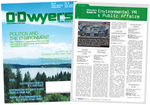 O'Dwyer's February Environmental PR & PR Magazine