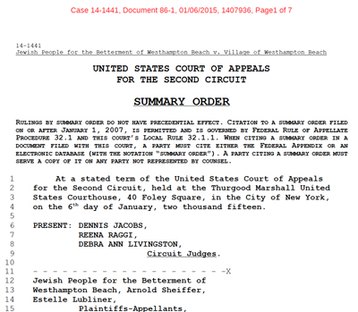 US Court of Appeals document