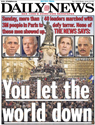 Daily News cover Jan. 12, 2015