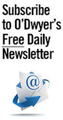 Subscribe to O'Dwyer's Daily E-mail Newsletter