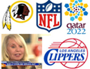 Redskins, NFL, FIFA, Clippers