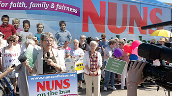 nuns on a bus