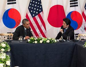 Abe, Obama