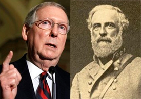 Mitch McConnell & General Lee