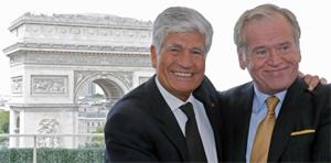 Maurice Levy & John Wren