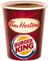 tim horton's, burger king