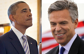 obama, huntsman