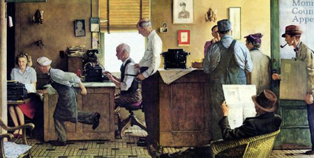 Norman Rockwell Country Editor