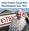Pope Francis, Westhampton