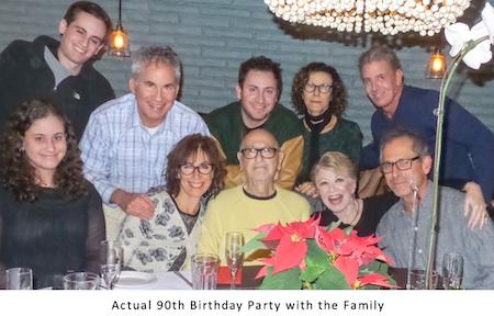 Murray Weissman 90th birthday party