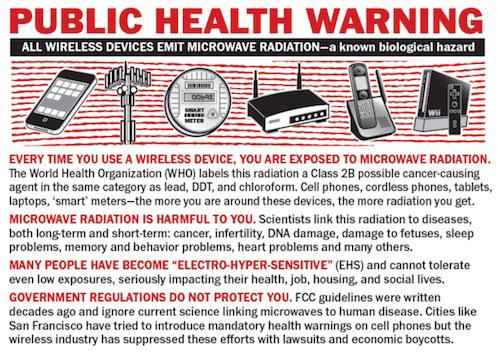 Public Health Warning