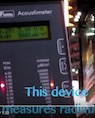 Times Square radiation measurement