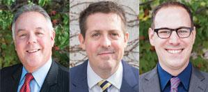 Hal Dash, Chris Gilbride, Brandon Stephenson