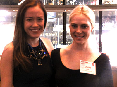 Madeline Parker and Emma Siolka of BPN, Portland