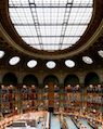 French Nat'l Library reading room