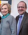 Michael Kempner & Hillary Clinton