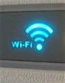 Wi-Fi symbol on Delta plane