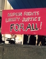 Human Rights, Liberty, Justice for All! banner
