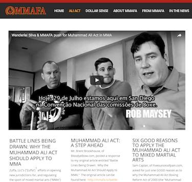 MMAFA website