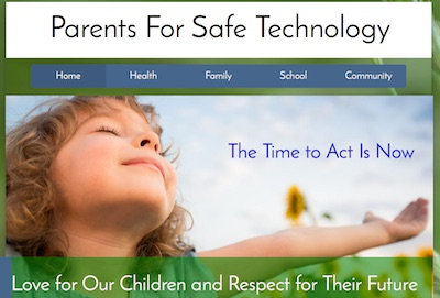 Parents For Safe Technology website