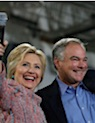 Kaine and Clinton