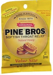 Pine Bros. cough drops
