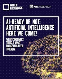 Weber Shandwick study on artificial intelligence