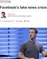 BBC website story on Facebook