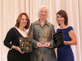 WWPR PR Woman of the Year finalists Martha Boudreau, Sharon Reis and Maria Rodriguez
