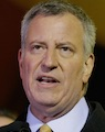 NY Post article on Mayor de Blasio