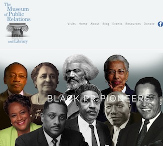 The Museum of Public Relations - Black PR History Month, Feb. 2017