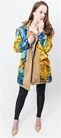 Dress Abstract trench coat