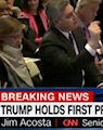 CNN's Jim Acosta at President-elect Trump's press conference