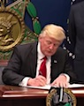 President Trump signs executive actions