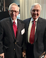 Jack O'Dwyer & Dick Martin at Arthur W. Page Center dinner