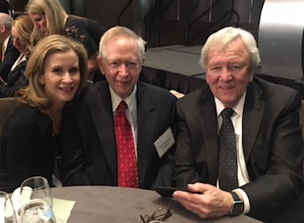 Jill Gabbe, Jack O'Dwyer and Bill Nielsen