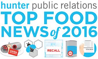 Hunter Public Relations 2016 Food News Study
