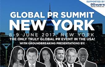 Global PR Summit New York - June 8-9, 2017