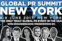 Global PR Summit New York - June 8-9, 2017