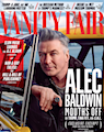 Vanity Fair cover with Alec Baldwin