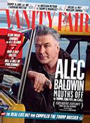 Vanity Fair cover with Alec Baldwin