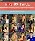 The Agency website profiling graduating seniors