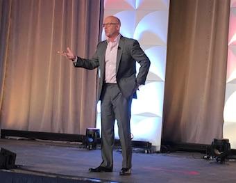 Mark Jeffries closes IABC conference in Washington, D.C.