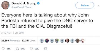 Donald J. Trump @realDonaldTrump